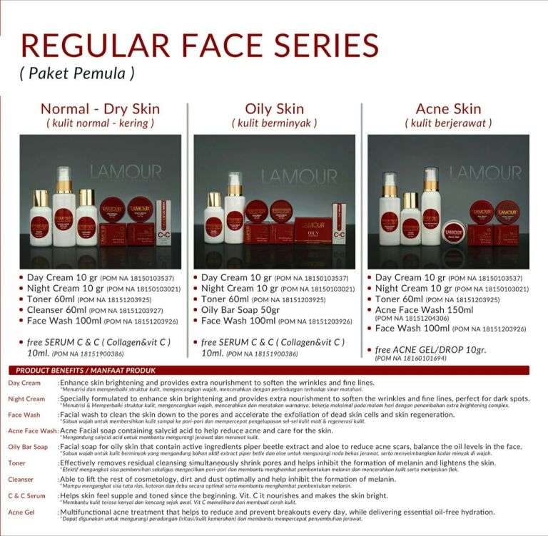 Reguler Face Series